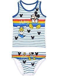 Disney Mickey Mouse - Conjunto de camiseta y calzoncillos