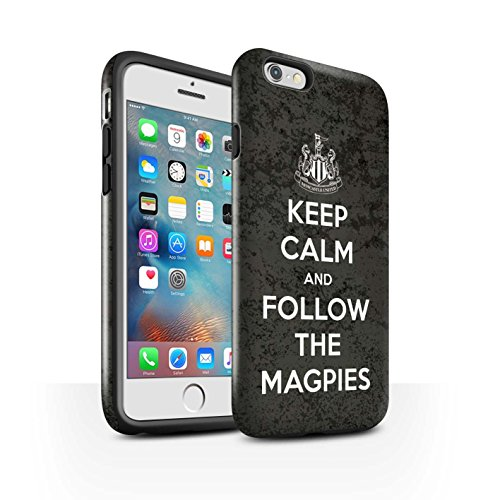 Officiel Newcastle United FC Coque / Brillant Robuste Antichoc Etui pour Apple iPhone 6+/Plus 5.5 / Pack 7pcs Design / NUFC Keep Calm Collection Suivez/Magpies