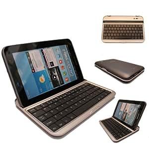 TECHGEAR® Bluetooth Wireless Keyboard Case Stand For Samsung Galaxy Tab 2 7.0 P3100 / P3110 (BLACK)