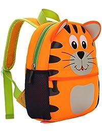 TEAMEN Kinderrucksack Animal escuela alforja mochila for niños Baby chicas bebé 2-6 edad, tigre