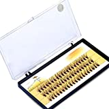 Professional Makeup 60pcs Clusters Eye Lashes Fake Individual False Eyelashes Extension (14mm)