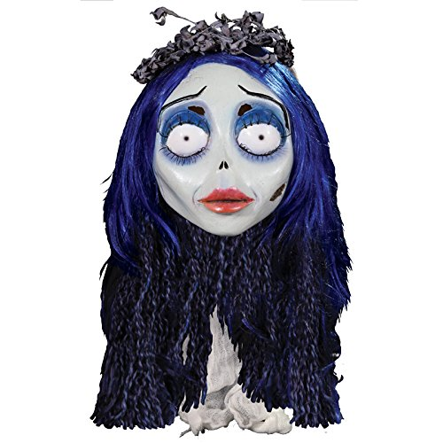 Générique Trick Or Treat - MAHAL713 - Masque Latex Adulte Emily Corpse Bride