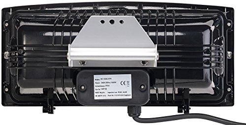 Semptec Außenheizstrahler: Infrarot-Außen-Heizstrahler IRW-1500 mit Goldröhre, 1.500 Watt, IPX4 (Heizstrahler Balkon) - 3