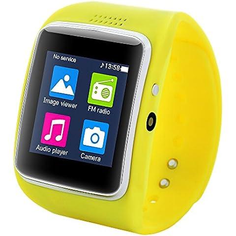 Ai reloj Z30Bluetooth GSM Smart Watchs con auriculares SIM/TF Vídeo/FM Radio Facebook Whatsapp y Twitter Sync para LG/Samsung/HTC/Huawei/Xiaomi Android teléfono celular