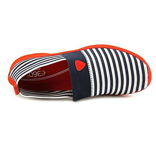 Easy Spirit e360 Quietstep Femmes étroit Toile Chaussure de Tennis NavMu