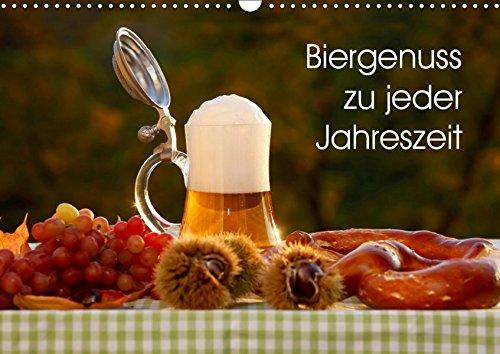 Biergenuss zu jeder Jahreszeit (Wandkalender 2019 DIN A3 quer): Stimmungsvolle Fotografien von Bier, entstanden in den verschiedenen Jahreszeiten. (Monatskalender, 14 Seiten ) (CALVENDO Lifestyle)