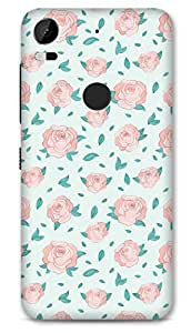 HTC 10 Pro Designer Hard-Plastic Phone Cover from Print Opera - Floral