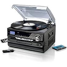 chaine hifi avec lecteur cassette et cd. Black Bedroom Furniture Sets. Home Design Ideas