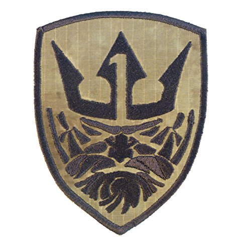 2AFTER1 MOH King Neptune Medal of Honor A-TACS AU Tactical Morale Hook-and-Loop Patch Atac 8
