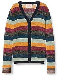 Scotch & Soda Cardigan In Colourful Lurex Stripe Chaqueta Punto para Niñas