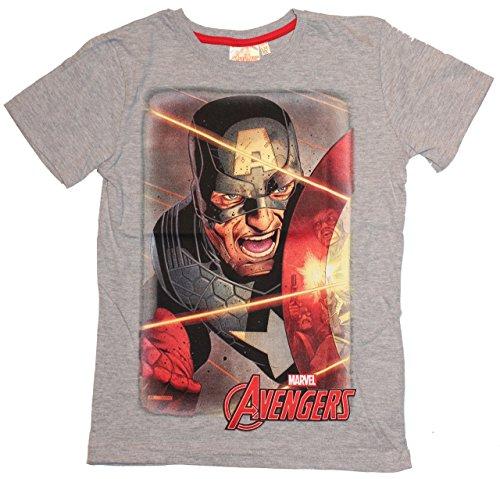 Marvel Avengers T-Shirt Kurzarmshirt (152, Grau 2) (Transformers 2 T-shirts)
