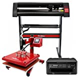 Die besten Plotter Drucker - PixMax Schwingpresse Hitzepresse Transferpresse T-Shirtpresse Textildruck inkll. Inkjet Bewertungen