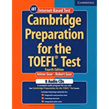 Cambridge Preparation for the TOEFL Test. 4 CDs: An extensive listening programm!