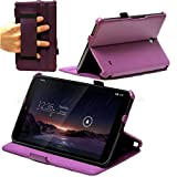 Navitech Clavier fin noir sans fil Android 3.0 pour Asus memo Pad 8 / Acver Iconia A1 / LG G PAD 8.3 7 Zoll MEDION LIFETAB E7316 Silber