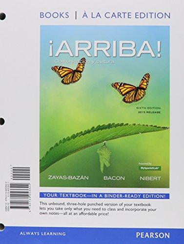 Arriba!: Comunicacion Y Cultura, 2015 Release