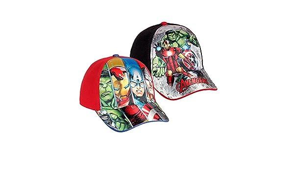 Eurowebb Cappello per Ragazze e Ragazzi Avengers Colore/ /Nero