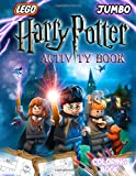 Harry Potter Activity Book: Harry Potter Coloring Pictureы, Boggler Puzzles, Mazes, Sudoku, Number Mazes, Alphabet Mazes, Finding The Difference - Easy And Fun Learning for Your Kids