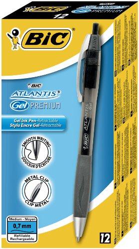 bic-atlantis-stylo-roller-a-encre-gel-pointe-moyenne-07-mm-noir-boite-de-12