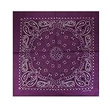 Alex Flittner Designs Bandana mit exclusivem Paisley Muster in lila