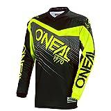 O'Neal Element Racewear MX Motocross Jersey Shirt Enduro Offroad Motorrad Quad Cross Erwachsene, 0008, Farbe Hi-Viz Gelb, Größe XL