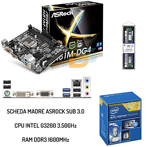 KIT UPGRADE INTEL SCHEDA USB 3.0 + CPU INTEL 3.50GHz