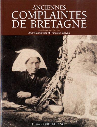 Anciennes complaintes de Bretagne