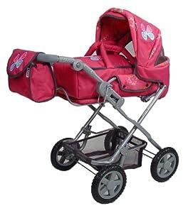 Knorr 61588 Luke - Carrito de bebé de Juguete con diseño de Mariposas
