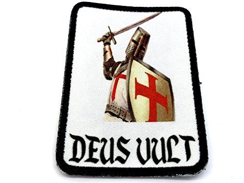 Kostüm Atat Walker - Deus Vult Ritter Templar Cosplay Airsoft Sublimated Morale Patch