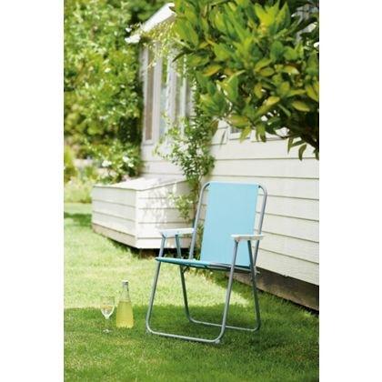 Empire Paintball Chaise de Pique-Nique Pliante en métal – Aqua