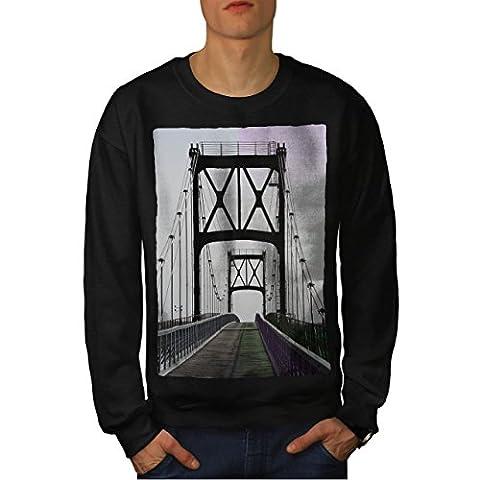 Pont Urbain Route Mode rivière Structure Homme S Sweat-shirt | Wellcoda
