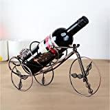 HJJ Rotwein Regal Eisen Mode Accessoires Wein Rack Cup Halter Continental Rotwein Rahmen Kreativ Ahorn Blatt Dreirad Rotwein Rack