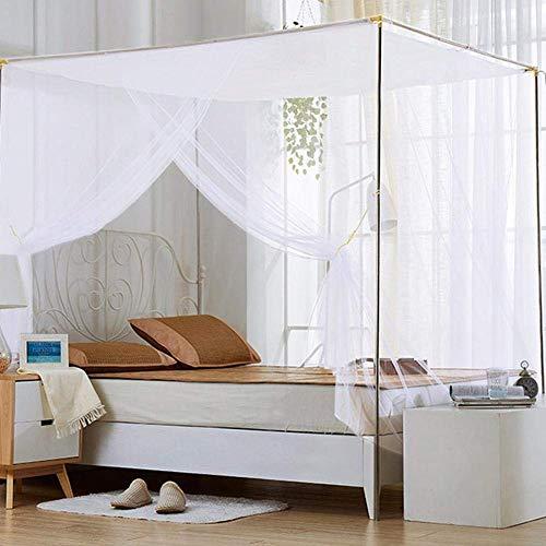 DHINGM Separates Netzgewebe, rechteckiges Moskitonetz, Mückenschutz, Sonnenschutz, langlebig, mit guter Atmungsaktivität und Anti-Mücken-Effekt - Moskitonetz Faltbaren