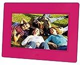 """Braun Digiframe 709 Cornice Digitale 7"""", Riproduzione Fotografie Digitali in Formato Jpeg, Risoluzione 800x480 Pixels, Rapporto 16:9, Tecnologia di Retroilluminazione LED, Rosa - Braun - amazon.it"""