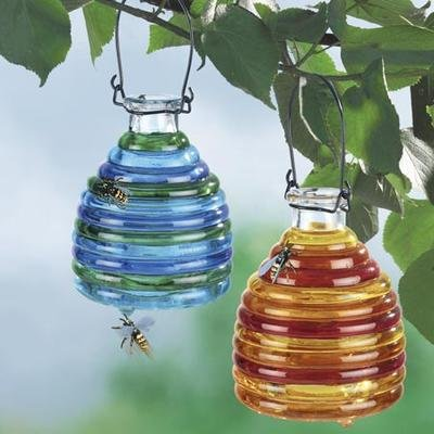 Wenko 71710900 Piège à guêpes en verre de couleur 2