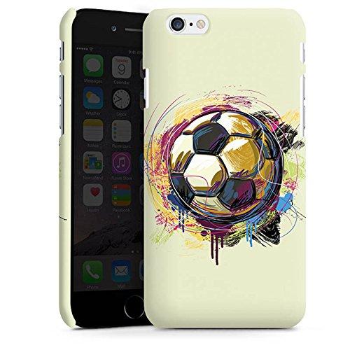 Apple iPhone X Silikon Hülle Case Schutzhülle Fußball Sport Ball Premium Case matt