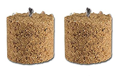 14brennelemente Wood Chip For Garden Torch Fire Pit Brazier Chiminea Chimenea Chimnea by Amsinck & Sell GmbH & Co. KG