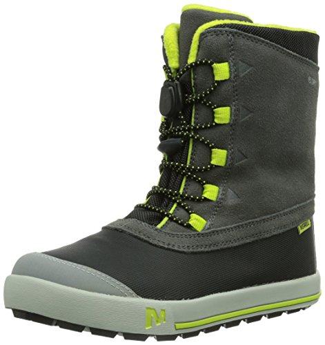 Merrell SNOW BANK WATERPROOF KIDS, Jungen Trekking- & Wanderstiefel, Braun (CHOCOLATE CHIP), 28 EU