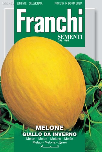 Seeds of Italy Ltd Franchi Melon jaune d'hiver