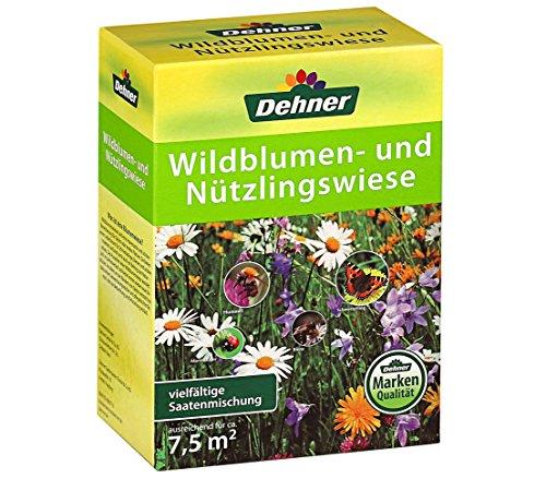 Dehner Saatgut Wildblumen- und Nützlingswiese, 150 g, für ca. 7,5 qm
