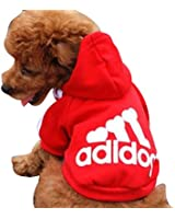Manteau / Vêtement Hoodie pour chien Pet Coat Adidog / Voyez la description clairement