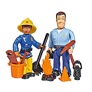 Simba 109251026 Fireman Sam Figures Double Pack II 4 Assorted