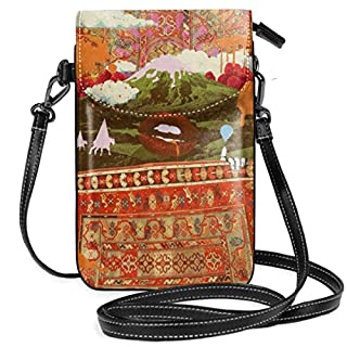 KEHctag Morning psychedelia ATD Crossbody Purse Cell Phone Purse for Womens,Girls