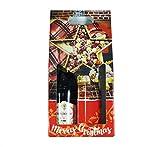 takestop Set 3 Pezzi Busta Buste da Regalo Natale per Bottiglia 18.8x38.5x9cm Sacchetti Sacchetto RF_233 Bottiglie Vino Spumante LIQUORE Decorazioni Natalizie Fantasia Colore Casuale