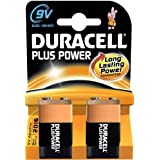 DURACELL Lot de 3 Piles Plus Power MN1604 9V 6LR61 blister de 2