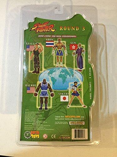 Street Fighter Guile figura articulada 16cm SOTA Toys 2