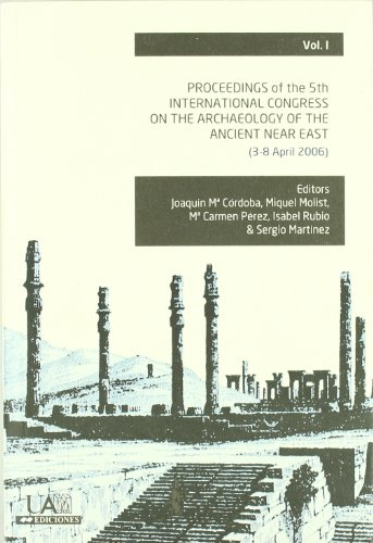 Proceedings of the 5th. International congress on the archaeology of the ancient near east 3 TOMOS (Fuera Colección) por J. M. Y OTROS, EDS. CORDOBA