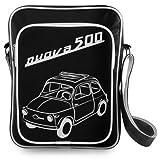 Borsa in ecopelle Nera Fiat 500