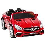 Uenjoy 12V Licensed Mercedes-Benz SL65 AMG Roadster Kids Ride-On Car w/Remote Control 3