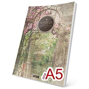 TULPE Punktraster Notizbuch: Ca. A5