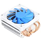 SilverStone SST-AR06 - Argon Ventilateur de processeur 4 Caloducs en contact direct, 92mm PWM, Intel/AMD